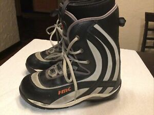HMK Men's Size 15 HM 202 Snowmobile Snocross Boot. Preowned