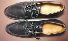 E.T. Wright brand new men's black pebble leather black oxfords NIB 11 3A 11 AAA