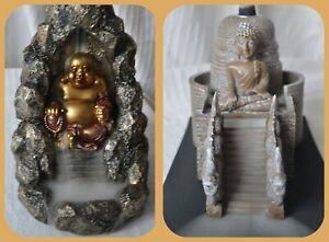Waterfall Smoke Effect Buddah Backflow Incense Cone Burner buddha holder