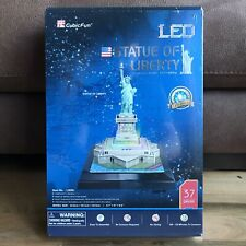 CubicFun Statue of Liberty New York USA 3D LED Puzzle - Brand New & Sealed!