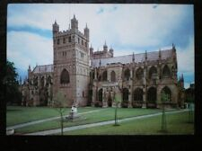 POSTCARD DEVON EXETER - CATHEDRAL FROM THE NORTH