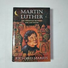 Martin Luther By Richard Marius Hardcover 1999