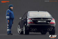 1/18 Russian Road Police VERY RARE! figure for1:18 CMC Autoart Minichamps Kyosho