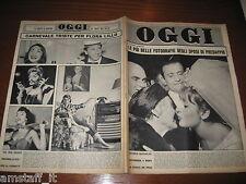 RIVISTA OGGI 1962/11=FLORA LILLO=GUGLIELMO MARCONI=GIANNI RIVERA MILAN=
