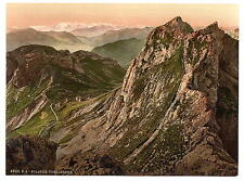 Tomlishorn I And Oberland Alps Pilatus A4 Photo Print