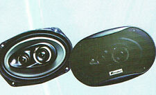 "Coppia Altoparlanti 6""x9"" 4 vie 500W Woofer 163X237mm Midrange 66mm Tweeter 40mm"