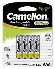 AAA Rechargeable NiCD Batteries 300 mAh/ For Solar Lights Also/ BUY 3 GET 1 FREE