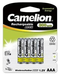AAA Rechargeable NiCD Batteries 300 mAh/ For Solar Lights Also