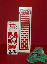 MISMADE SANTA CHIMNEY Holiday Christmas Tree Magic Trick Kid Wood Blocks + Cloth