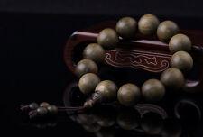 Sunyata@ Grade A Boutique Old Gold Nan Ebony Wood Prayer Beads Man Bracelets18mm