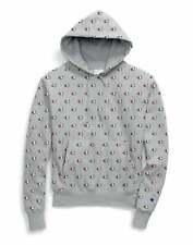 Men's Champion Life Reverse Weave Hoodie Sweatshirt All Over C Logo Pockets NWT