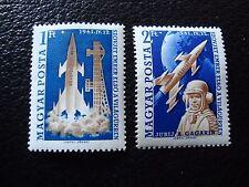 HONGRIE - timbre yvert et tellier n° 1429 1430 n** (C5) stamp hungary (A)