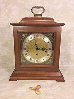 Vtg Seth Thomas Bracket Clock w/ Westminster Chimes Runs Strikes & Chimes