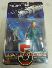 Premiere Babylon 5 Susan Ivanova & Starfury figure with Blue Uniform