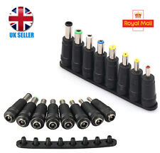 1Set Universal AC/DC Power Adapter PLUG Charger 8PCS Tips For PC/Notebook/Laptop
