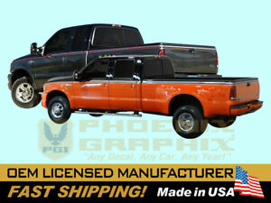 compatible with, 2004 Ford Harley Davidson F250 F350 Truck Decals Stripes