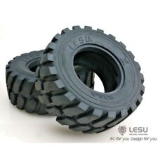LESU BIG TIRE 110mm od X 45mm wide x 53mm ID  LOADER HEAVY HAULERS RD-2004 STIFF