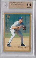 1999 Topps Traded Sean Burroughs Rookie Graded BGS 9.5