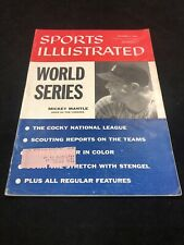 October 1, 1956 Mickey Mantle New York Yankees Sports Illustrated VINTAGE