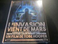 """BLU-RAY NEUF """"L'INVASION VIENT DE MARS"""" Karen BLACK / de Tobe HOOPER - horreur"""