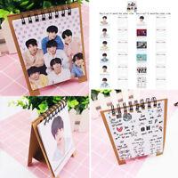 KPOP BTS Calendar BangTan Boys V Kim TaeHyung Goods 2019~2020 Desk Calendar USA