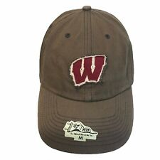 Wisconsin Badgers NCAA '47 Twins Franchise Charcoal Relaxed Fitted Cap Hat $30