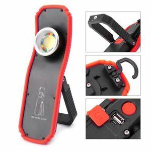 LED USB COB Car Detailing Valeting Inspection Light Portable 1800LM 30W