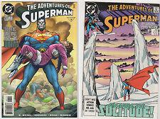 ADVENTURES OF SUPERMAN VF LOT (12) DC 1999-2002 Supergirl Lex Luthor JLA Ordway