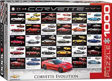 Corvette Car Evolution 1000 piece jigsaw puzzle 680mm x 490mm (pz)