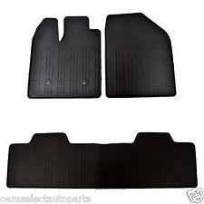 OEM NEW 2011-2014 Lincoln MKX All Weather Floor Mats DA1Z7813086A - Rubber Vinyl