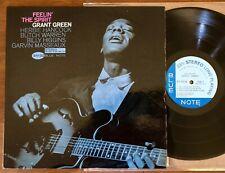 GRANT GREEN-FEELIN' THE SPIRIT LP-BLUE NOTE-STEREO-NY-EAR-VAN GELDER-ORIG-RARE!!