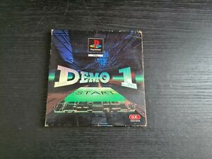 Demo 1 Start PS1 SLEEVE ONLY (Playstation 1) Free P+P.