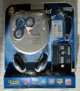 New Factory Sealed Panasonic Car Portable CD Player SL-SX282C Remote Mfg Japan