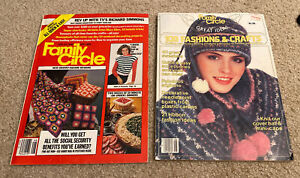 Family Circle Magazine Vintage 1981 1982 Richard Simmons Knit Craft