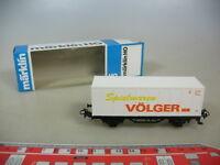 M480-0,5# Märklin/Marklin H0 Containerwagen, Spielwaren Völger, DB, TOP+OVP