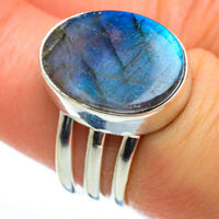 Labradorite 925 Sterling Silver Ring Size 7 Ana Co Jewelry R46909F
