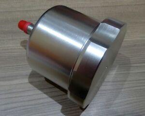 Remote brake fluid reservoir master cylinder billet aluminum pedal box silver