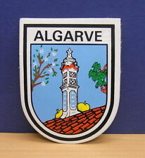 1x Sticker - Decal : Algarve Portugal with org.back 80's (1526)