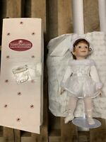 Ashton Drake Porcelain Doll 'My Little Ballerina' Sequence White Vintage