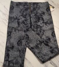 Members Only Women's Zip Up Leggings Size Medium New With Tags