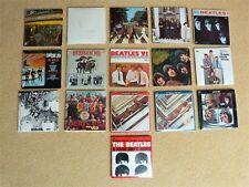 Beatles Memorabilia Miniature Album Collection Chu Bops Bubble Gum Complete Set