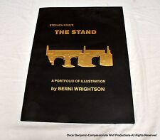 Bernie Wrightson The Stand Portfolio-SIGNED, NUMBERED, LIMITED, VERY RARE!