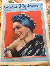 Cinema Illustrazione 1936 XI n° 9 Leda Gloria    23/12