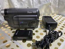 Jvc Gr-Sxm320U S-Vhs Super Vhs Camcorder Vintage