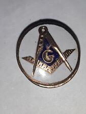 Mason lapel pin