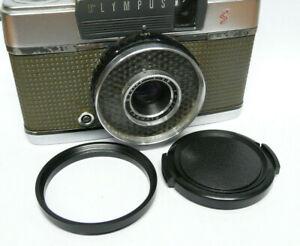 Olympus PEN EE EES EE2 EE3 EES-2 43.5mm to 46mm Filter Step Up Ring & Lens Cap
