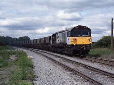 PHOTO  1993 DIESEL LOCOMOTIVE 58012 COAL TRAIN APPROACHING GASCOINE WOOD JUNCTIO
