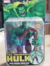 Marvel Legends Hulk Classics Super Poseable Savage Hulk Toybiz New and Sealed !!