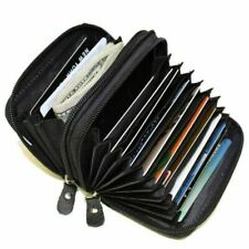 Marshal RFID Leather Wallet - Black