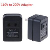 1Pc 50W step up voltage converter transformer 110V to 220V adapter 50/60Hz